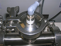 Using a temperature sensor in an application