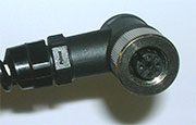 Connector of a temperature sensor